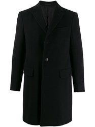 Z Zegna Textured Single Breasted Coat 60