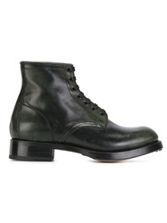 Dsquared2 Lace Up Boots Green