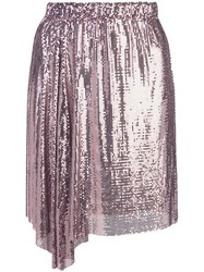 Paco Rabanne Chainmail Skirt Pink