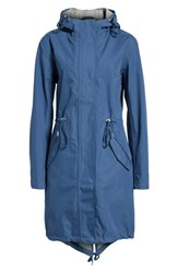 Ilse Jacobsen Illse Hornbaek Raincoat Blue Rock