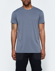 Reigning Champ Ss Crewneck Tee Powerdry Jersey In Charcoal