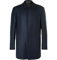 Canali Water Resistant Wool Jacket Navy
