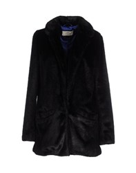 Urbancode Coats And Jackets Faux Furs Women Black