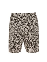 Christopher Kane Decay Print Cotton Shorts