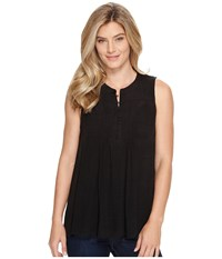 Stetson 0882 Sleeveless Blouse Black Women's Blouse