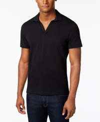 Inc International Concepts Dressy Polo Only At Macy's Black