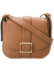 Michael Michael Kors Saddle Shoulder Bag Brown