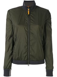 Parajumpers Adele Bomber Jacket Women Cotton Polyamide Polyester S Green