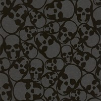 Graham And Brown Skulls Wallpaper Sample Swatch