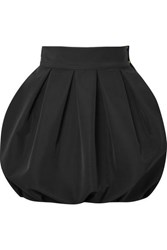 Alexandre Vauthier Faille Mini Skirt Black