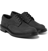 Tricker's Woodstock Water Resistant Nubuck Derby Shoes Black