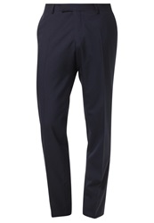 Oscar Jacobson Damien Suit Trousers Navy Dark Blue
