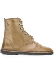 Golden Goose Deluxe Brand 'Gramercy' Boots Nude And Neutrals