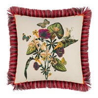 Etro Jacaranda Tassel Edged Cushion 45X45cm White
