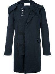 Sacai Layered Coat Blue