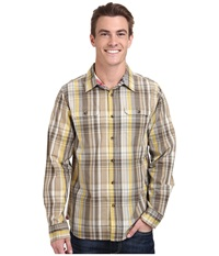 The North Face Long Sleeve Ridgecrest Shirt Misted Yellow Men's Long Sleeve Button Up