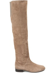 Stuart Weitzman 'Rocker Chic' Boots Nude And Neutrals