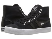 Gola Coaster High Black Black White Women's Shoes