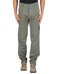 Macchia J Trousers Casual Trousers Men Military Green