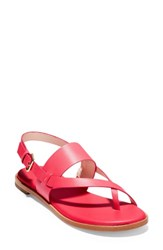Cole Haan Anica Sandal Teaberry Leather