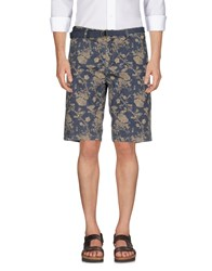 Solid Bermudas Dark Blue