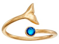 Alex And Ani Whale Tail Wrap Ring Gold Ring