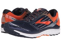 Brooks Ghost 9 Peacoat Red Orange Black Men's Running Shoes