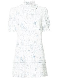 Macgraw Observation Dress White