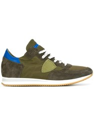Philippe Model Lateral Patch Sneakers Green