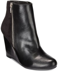 Report Russi Wedge Booties Women's Shoes Black