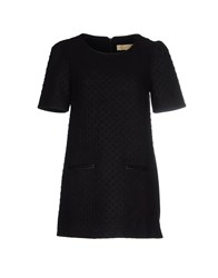 Bonsui Short Dresses Black