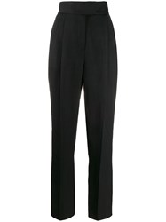 Roberto Cavalli High Waisted Tapered Trousers 60