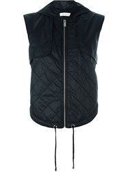Ash 'Value' Quilted Gilet Blue