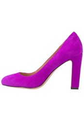 Banana Republic High Heels Neon Fuschia Purple