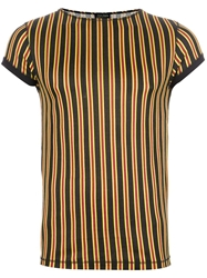 Jean Paul Gaultier Vintage Striped T Shirt Multicolour