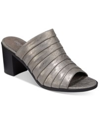 Easy Street Shoes Chella Sandal Women's Pewter Metallic