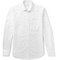 Aspesi Cotton Poplin Shirt White