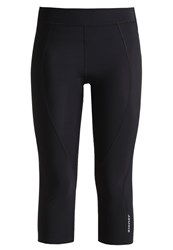 Ziener Caralina 3 4 Sports Trousers Black