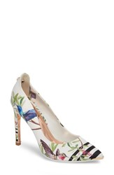 Ted Baker London Hallden Pump Highgrove Hummingbird Print