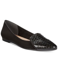 Style And Co. Desya Smoking Flats Women's Shoes Black