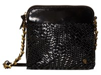 Elliott Lucca Zoe Camera Bag Black Patent Devi Bags