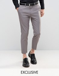 Only And Sons Skinny Cropped Pants Gray