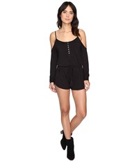 Rip Curl Stevie Romper Black Women's Jumpsuit And Rompers One Piece