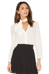 Joie Nile Button Up White