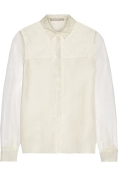 Jason Wu Silk Organza Blouse