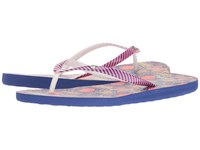Roxy Portofino Red Blue Women's Sandals