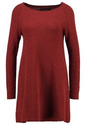 Only Onlnew Tessa Jumper Dress Henna Dark Brown