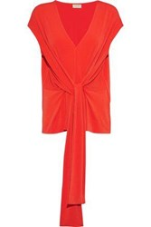 By Malene Birger Sleeveless Top Tomato Red