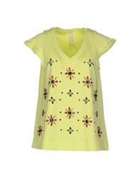 Pinko Tag Topwear Sweatshirts Women Acid Green