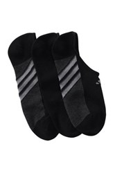 Adidas Superlite No Show Socks Pack Of 3 Black